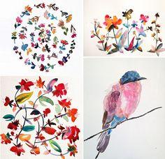 Kiana Mosley watercolors
