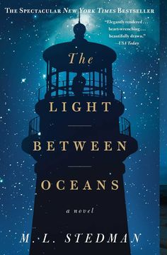 "<i><a href=""http://www.amazon.com/Light-Between-Oceans-M-L-Stedman/dp/1451681755"" target=""_blank"">The Light Between Oceans</a></i> by M.L. Stedman"