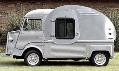 Citroen Teardrop karavan - Designed on a day the engineers locked the stylists out of the office -DM