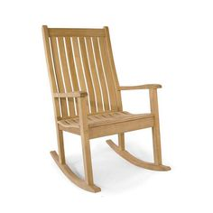 Veranda Wave Premium Teak Rocking Chair - Westminster Teak Outdoor Furniture