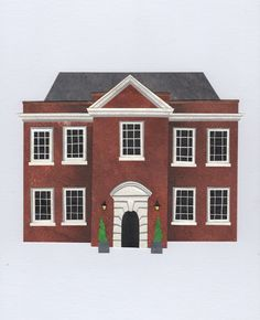 Assembly House. Stacey Knights Illustration