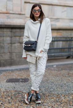 buy online 39607 cb623 Top Street Style, Milan Fashion Week Street Style, Cool Street Fashion,  Street Chic