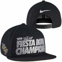Nike UCF Knights Fiesta Bowl Champions Locker Room Players Snapback Hat
