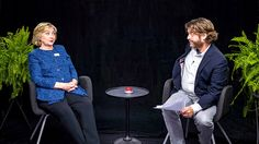 Hillary Clinton Visits 'Between Two Ferns' With Zach Galifianakis, And Really Regrets It Halfway Through