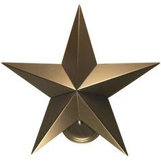 17 Inch W Texas Star Wall Sconce - Custom Made