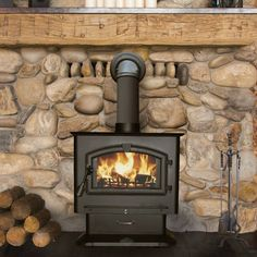Heat up to 3000 sq. feet with this wood stove!