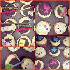 #art inspired #cupcakes  #London #Greenwich #bakingboys