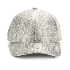 mytheresa.com - Camp Glitter metallic baseball cap - hats - accessories - Luxury Fashion for Women / Designer clothing, shoes, bags