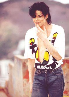 ♥ Michael Jackson ♥ - This picture is just so adorable :)