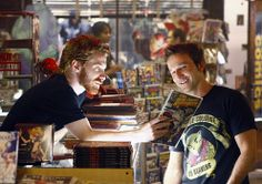 """Heroes - Season 3 - """"The Eclipse Part 1"""" - Seth Green as Sam and Breckin Meyer as Frack"""