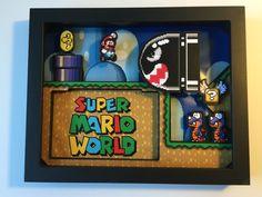 Super Mario World 3D Shadow Box - Album on Imgur