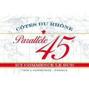 Jaboulet Cotes du Rhone Parallele 45 Rouge 2013 from Cotes du Rhone, Rhone, France - The 2013 Parallèle 45 Côtes du Rhône is a fresh, medium bodied red driven by notes of black fruit and exotic spices with ...
