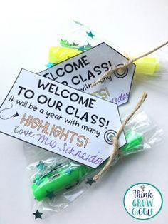 Back to school, free, freebie, gift tags