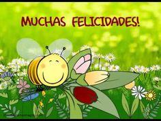 Que pases un día tal como tú eres:, realmente especial., Muchas felicidades!