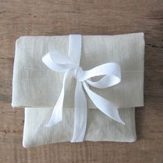 30 pcs  4x6  cream French  linen gift bags   by WorldOfWillows