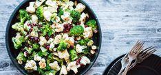 Stekt blomkål og brokkoli   Lises blogg Vegetable Ideas, Vegetable Dishes, Tasty, Yummy Food, Av, Sprouts, Vegetables, Blog, Delicious Food