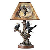 Treetop Majesty Lamp