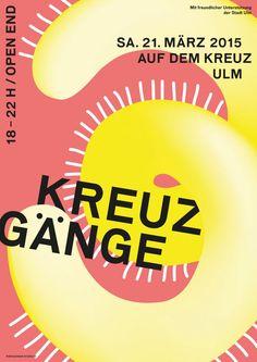 KREUZGÄNGE 3 — BARBAR — Studio for Graphic Design & Illustration