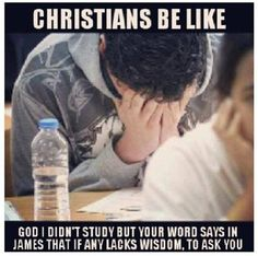 7 Memes That Summarize Being a Christian in College - College Meme - - When you know you didn't study right but you're praying for a divine deposit of knowledge. The post 7 Memes That Summarize Being a Christian in College appeared first on Gag Dad. Funny Black Memes, Funny Quotes, Life Quotes, Funny Memes, Jesus Meme, Memes Humor, New Memes, Church Memes, Church Humor