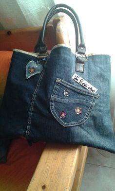 Borsa jeans Baylepreziose            (fai da te)