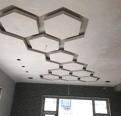 Office Ceiling Design, Interior Ceiling Design, Showroom Interior Design, House Ceiling Design, Ceiling Design Living Room, Bedroom False Ceiling Design, Ceiling Light Design, Bathroom Interior Design, Wall Design