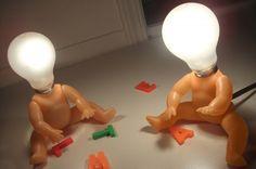 Znalezione obrazy dla zapytania lampa lalka