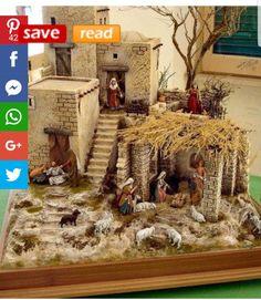 Diy Nativity, Christmas Nativity Scene, Christmas Scenes, All Things Christmas, Christmas Holidays, Merry Christmas, Xmas, Nativity Scenes, Christmas Crib Ideas