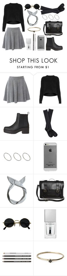 """""""untiteld #210"""" by anna-tsk ❤ liked on Polyvore featuring American Retro, Topshop, Xhilaration, ASOS, Case-Mate, Pull&Bear, Dr. Martens, Givenchy and Satomi Kawakita"""