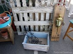 picket fence, nashville flea market, Petticoat Junktion