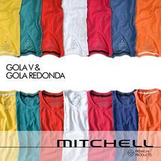 Gola V ou Gola Redonda? #mitchellbr