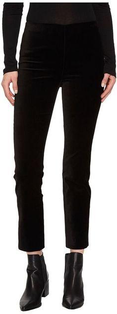 Vince Velvet Leggings Women's Casual Pants