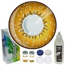 Hazel 3 Tone Colour Contact Lens Complete Set