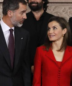 Jan. 30, 2017... King Felipe & Queen Letizia attend 'Commemoration Of Cervantes Death' closing ceremony at the Royal Palace in Madrid