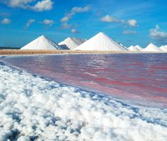 Salt Pyramids, Bonaire. Very cool in 1999.