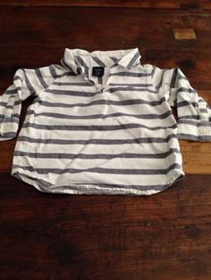 Check out this listing on Kidizen: Gap Grey/white Stripe Shirt via @kidizen #shopkidizen