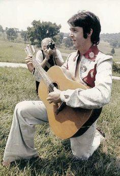 Paul does Elvis