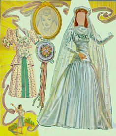 Dolls you love to dress 1949 – Bobe Green – Webová alba Picasa