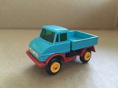 1967 MATCHBOX SERIES NO 49 MERCEDES UNIMOG TRUCK MADE IN ENGLAND BY LESNEY