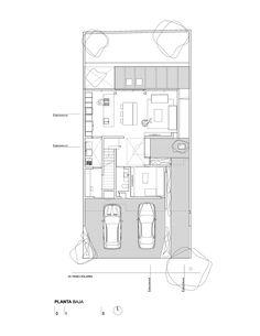 Imagen 17 de 28 de la galería de Casa SGC / René Sandoval. Ground Floor Plan