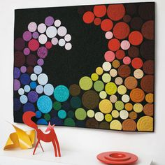 This would be an amazing poster to help kids visualize the warm vs. cold colors.  Could be made with paint sample papers and die cut...I freaking LOVE this!