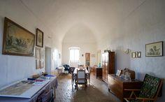 Calce e soffitti bianchi, Masseria Roto Galeta - Porto Cesareo http://stanzeonline.com/salento/porto-cesareo/