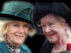 She was not allowed to sit with any Royals until the Queen Mother passed away. Three months after Queen Mother passed away she sat in the Royal box at a pop concert. She will never be known as Queen!!!