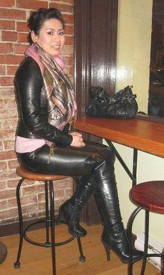 """Résultat de recherche d'images pour """"lady anja leather pants"""""""