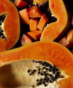 Papaya benefits include natural laxative, relieving habitual constipation, bleeding piles and chronic diarrhea.