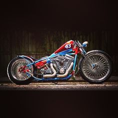 Petty Prize,Richard petty theme chopper motorcycle
