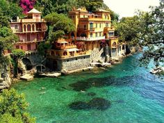 portofino, italy. look at that water!
