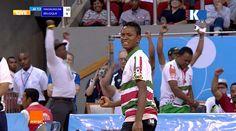 Demi-finale du Championnat du monde avec l'équipe de Madagascar