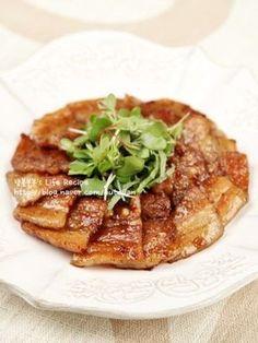 [삼겹살 요리] 짭조름하게 맛있는 간장삼겹살 : 네이버 블로그