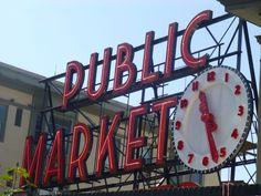 Pike Place Market - Seattle, WA (May, 2016)
