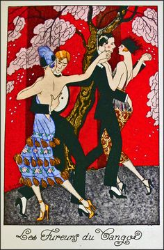 The Tango! ~ Georges Barbier, ca. 1920s